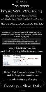 Geek Birthday Meme - why nikola tesla was the greatest geek who ever lived the oatmeal