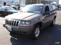 jeep cherokee brown 2002 woodland brown satin glow jeep grand cherokee laredo 4x4
