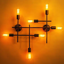 Industrial Wall Sconce Lighting Large Wall Sconces Lighting U2013 Kitchenlighting Co