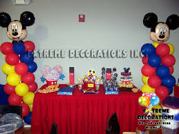 mickey mouse decorations party decorations miami balloon sculptures