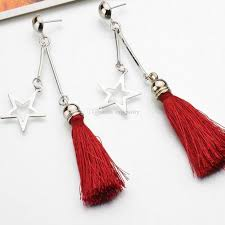 hanging earrings 2018 stylish tassel hanging earrings for women retro