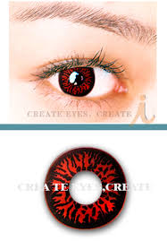 red wolf eyes crazy halloween contacts pair redwolf 29 99