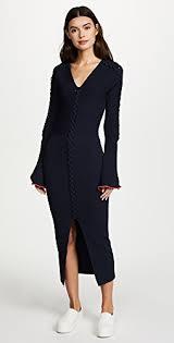 blue sleeve dresses shopbop