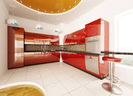 conception 3d cuisine la conception intérieure de la cuisine moderne 3d rendent