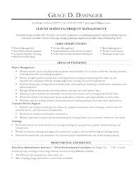 Resume For Ca Articleship Training Core Competencies For Resume U0026 Project Manager Resume