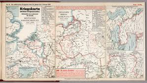 World War One Map by World War I Map German Nr 19 Military Events To February