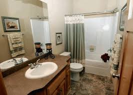 decorative bathrooms ideas square wall mounted glass mirror