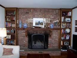 Living Room Mantel Decor Living Room Over The Fireplace Decor With Decorating A Large