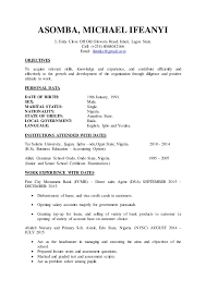 Computer Technician Resume Samples by Michael Asomba Cv