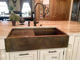 Copper Kitchen Sink Reviews by Sinks Amazing Bronze Farmhouse Sink Bronze Farmhouse Sink Bronze