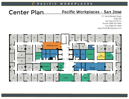 Office Space Floor Plan First Rate Office Space In San Jose Ca Pacific Workplaces