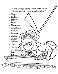 coloring pages water safety 100 coloring pages spring spring in a small town water animals
