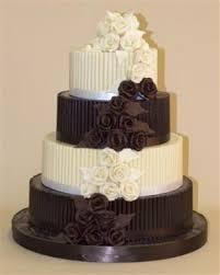chocolate wedding cakes buy chocolate wedding cakes and white