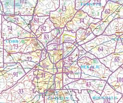 Us Zip Code Map by Fmlsmetroatlantazonemap