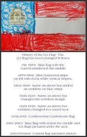 Facts About Georgia State Flag 8 Best Georgia Images On Pinterest Savannah Georgia 50 States