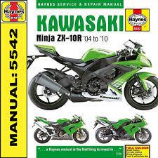 kawasaki motorcycle workshop manuals ebay