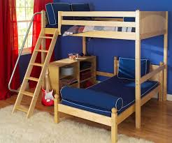 Maxtrix LShape Loft Bunk Bed Bed Frames Matrix Furniture - Maxtrix bunk bed