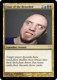 Magic Card Meme - pointless magic card blank template imgflip