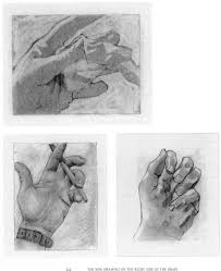 modified contour drawing of your hand drawing on memories