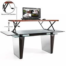 sit stand computer desk stand up solution sit stand desk users sit less burn more calories
