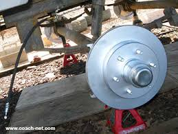 the basics of an electric over hydraulic trailer disc brakes