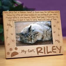cat memorial personalized cat memorial picture frame giftsforyounow