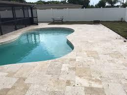 south pavers brick pavers and travertine pavers pool brick