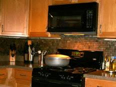 how to install backsplash in kitchen how to install a kitchen tile backsplash hgtv