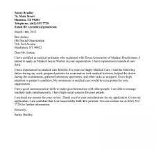 cover letter for social work position application sample cover