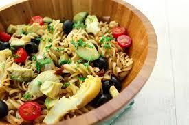 avocado and artichoke pasta salad maya kitchenette
