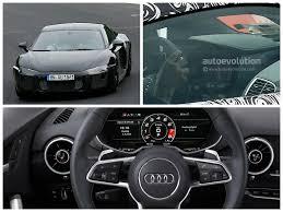 Audi R8 Interior - 2016 audi r8 interior revealed in latest spyshots autoevolution