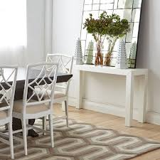 Pier One Console Table Parsons Console Table White Bungalow Pier One Psn Crate Barrel