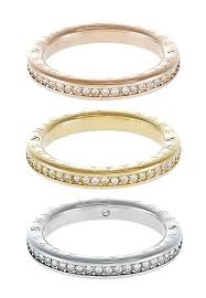 silver coloured rings images Buy iconic 3 pack ring gold coloured rose gold coloured silver jpg