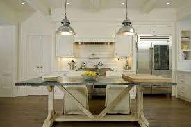 trestle table kitchen island trestle table as kitchen island design ideas