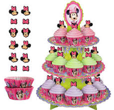 minnie mouse cupcakes wilton minnie mouse cupcake stand 12in x 16 1 2in party city