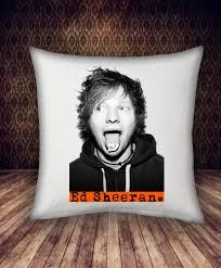 personalized home decor hi ed sheeran pillow case personalized home decor