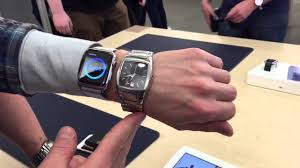 hd apple 42mm on small wrist compared to dnky analogue
