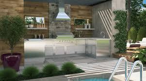 cuisines ext駻ieures cuisines extérieurs patio terrasse créations folie bois