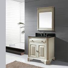 Distressed Bathroom Vanities Bathroom Small Distressed Bathroom Vanity With Sink In White