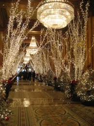 New Orleans Chandeliers Grand Lobby With Chandeliers Decorated For