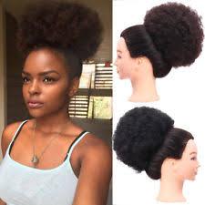 afro puff pocket bun hairstyles afro puff ebay