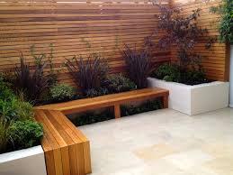 contemporary garden seating ideas video and photos