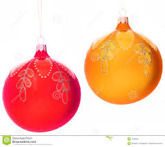 tree decorations christmas tree decorations balls stock image image of