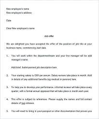 29 offer letter template