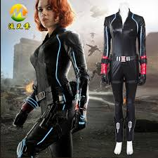 black widow jumpsuit black widow costume age of ultron clothes