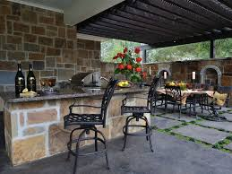 Designs For Outdoor Kitchens by Kitchen Outdoor Kitchen Roof Ideas Granite Counter Outdoor