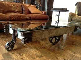 rustic coffee table with wheels fancy coffee table with wheels somerefo org