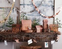 classic christmas classic christmas copper mantel decoration nova68