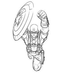 free captain america coloring pages print coloring kids