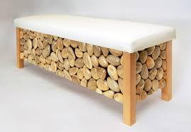 Bug Infested Wood Transformed Into Sleek Modern Furniture Straight - Straight line sofa designs